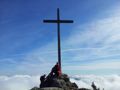 Gipfel Großer Arber