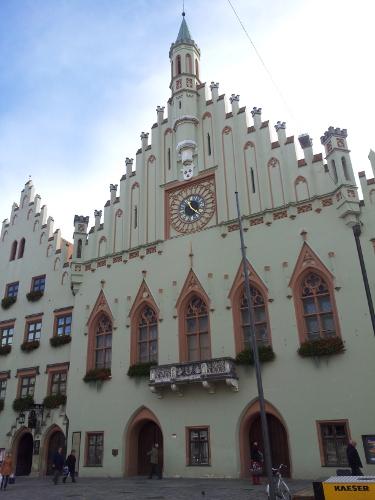 Rückfahrt mit Abstecher nach Landshut
